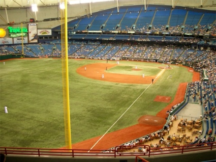 Tropicana Field, empty