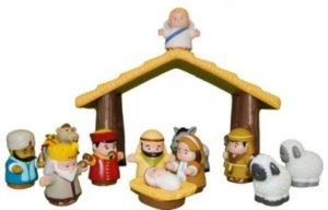 Plastic Nativity